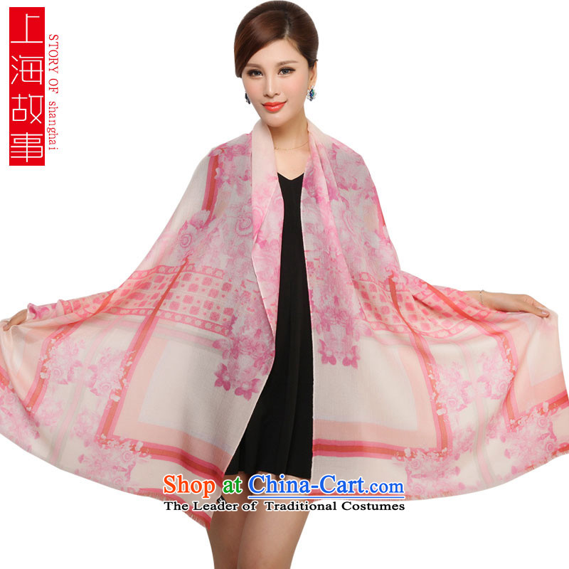 Shanghai Story pure Cashmere scarf female autumn and winter rings lint-free warm shawl rings lint-free2