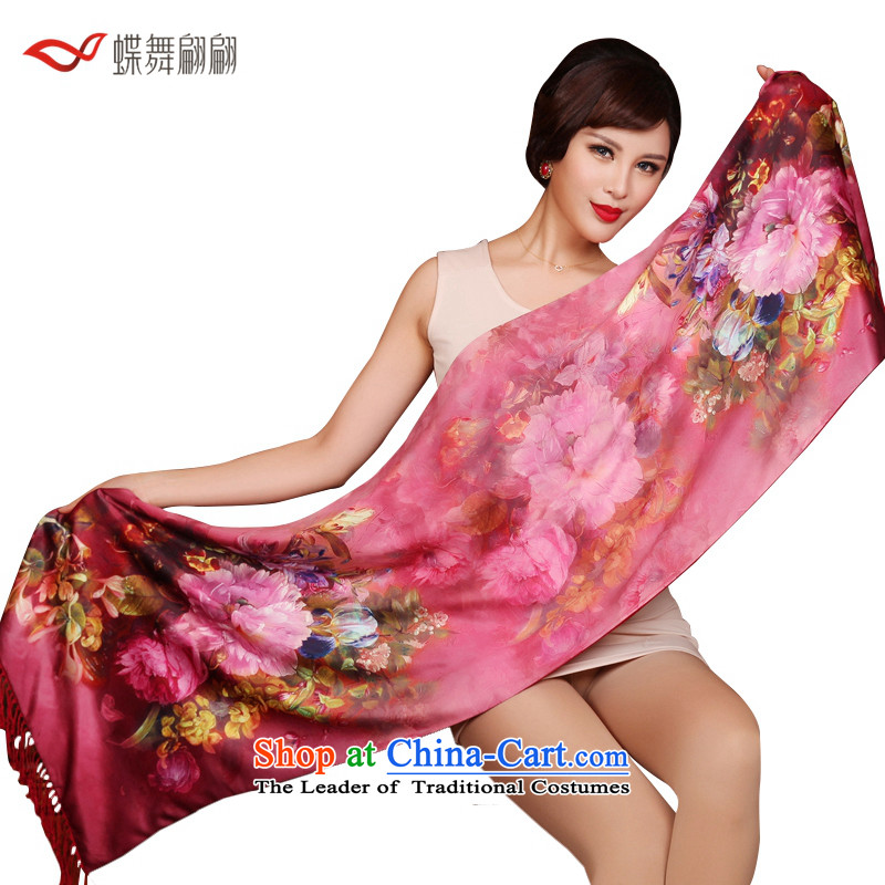 The Butterfly Dance medley emulating silk scarves Ms. brushed19# shawl