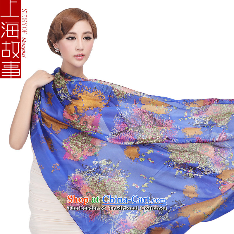 Shanghai Story of the oceans herbs extract Korean woven silk scarves female autumn and winter long24# Fancy Scarf