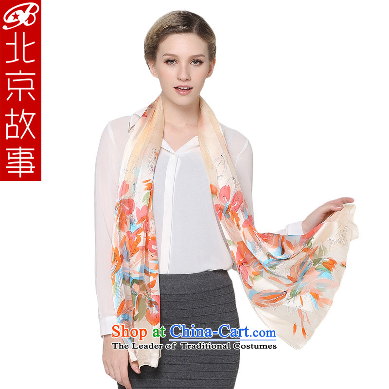 Beijing story herbs extract female Ms. scarves silk scarves sunscreen cream 104001 shawl
