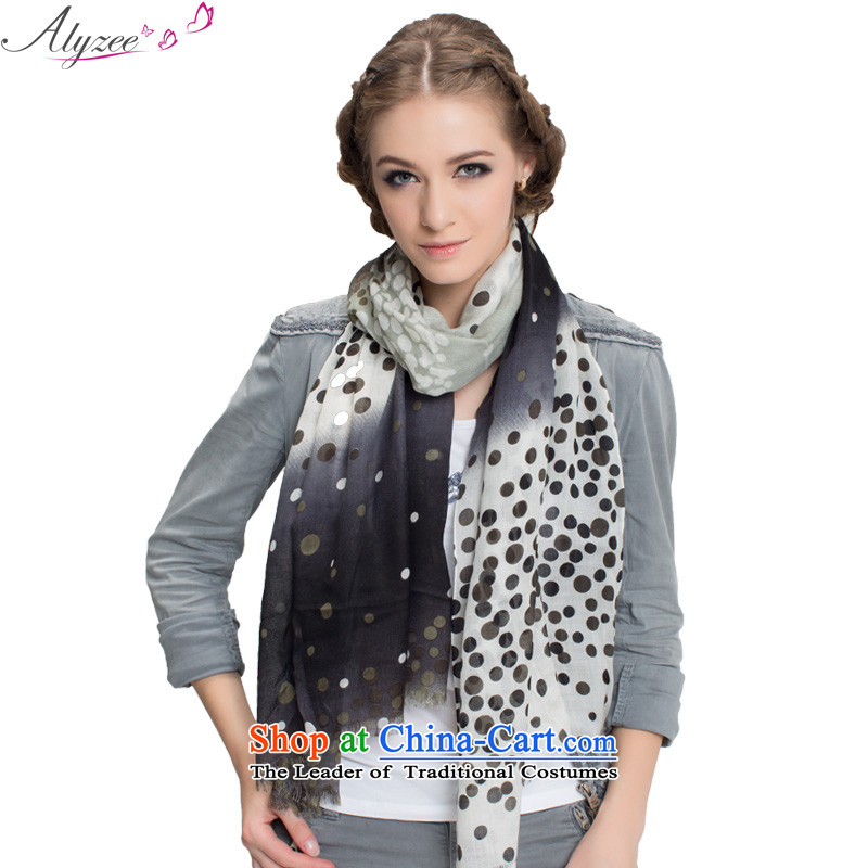 In the spring and autumn Alice new leisure autumn and winter stamp Women warm and stylish with Fancy Scarf Grass green