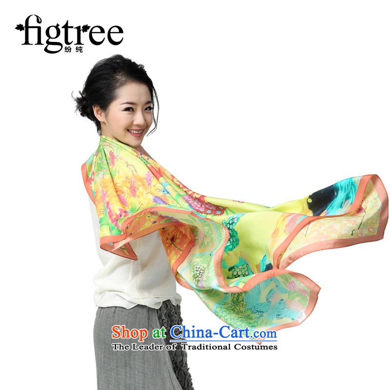 The roads are silk scarf silk scarf and classy scarf large sauna silk shawls Phoenix to twill silk-hook wire autumn and winter Phoenix to new products