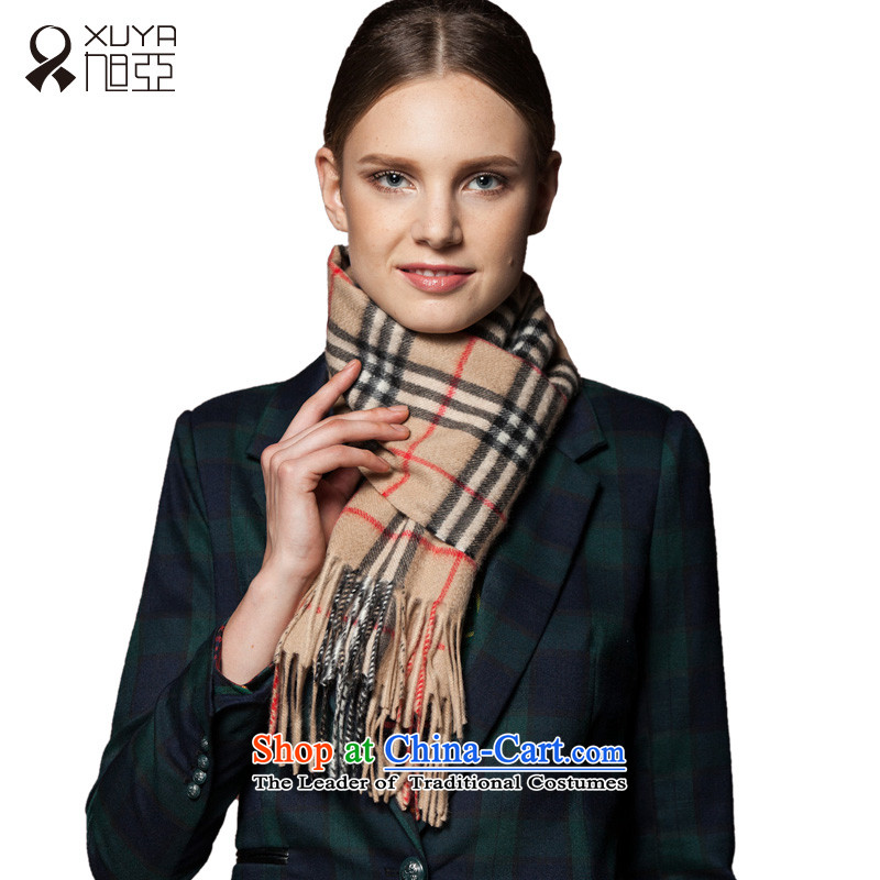 The Pure Cashmere scarf-wook classic english latticed scarf Western wind long thick, warm winter 2015 New Sleek and versatile and light buses.