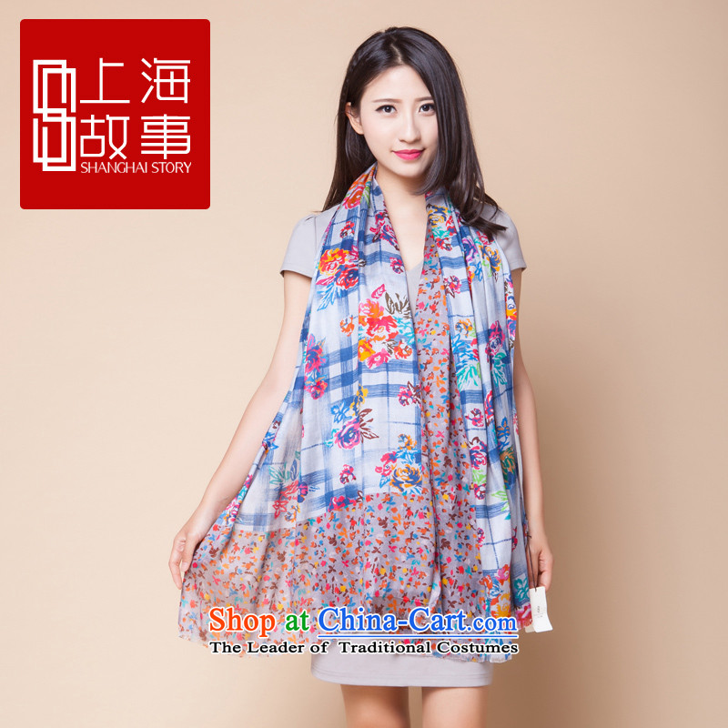 Shanghai Story herbs extract silk scarves female sunscreen silk scarf shawl strange dreams are suit code