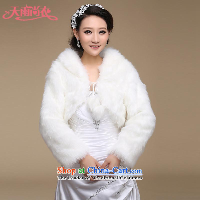 Rain was followed suit coats dinner Yi marriages wedding shawl winter long-sleeved Algeria sub warm shawlPJ032m White