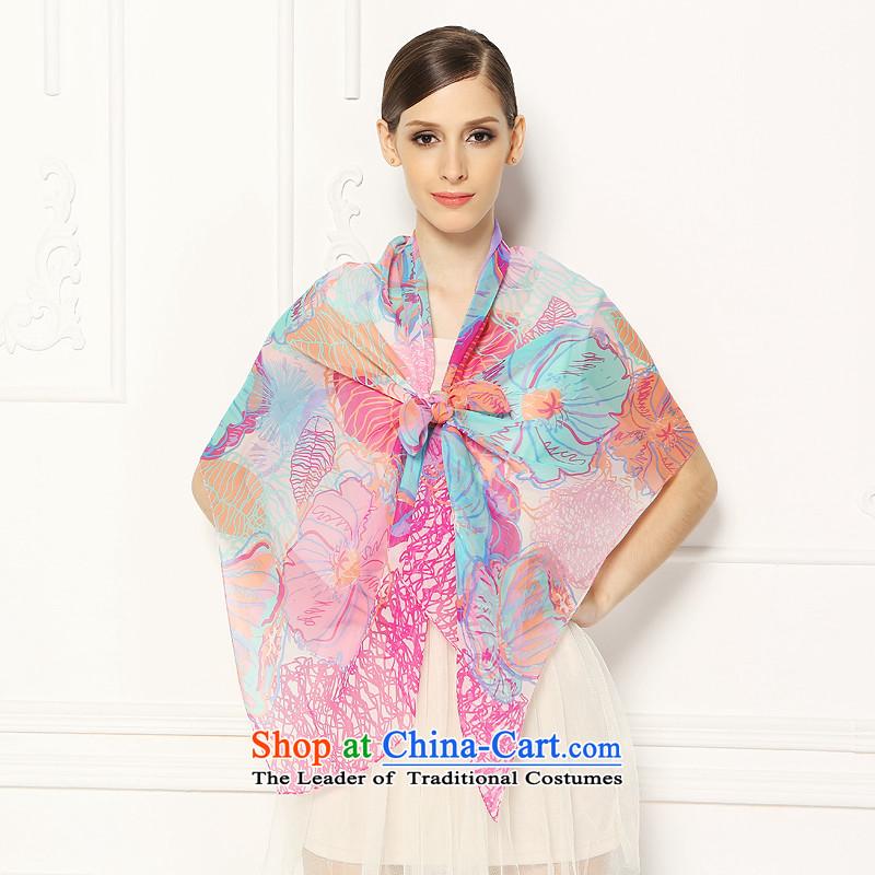 Silk gittoes millisilk yarn long towel upscale gift boxed flower ya si