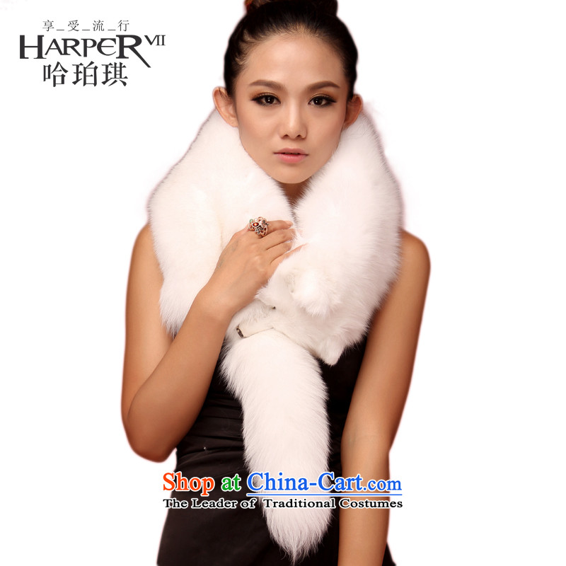 Harper Angel's crowning glory whole oversized fox luxurious hotel fur a fox shawl fur scarves Gross Gross for wedding shawl small Kampala shoulder white fox large
