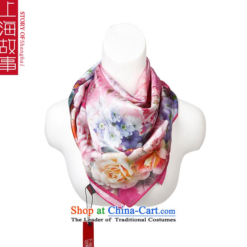 Shanghai Story silk scarf silk scarf and classy, Jamsil silk scarf shawl sauna2# China Guangcai Yun
