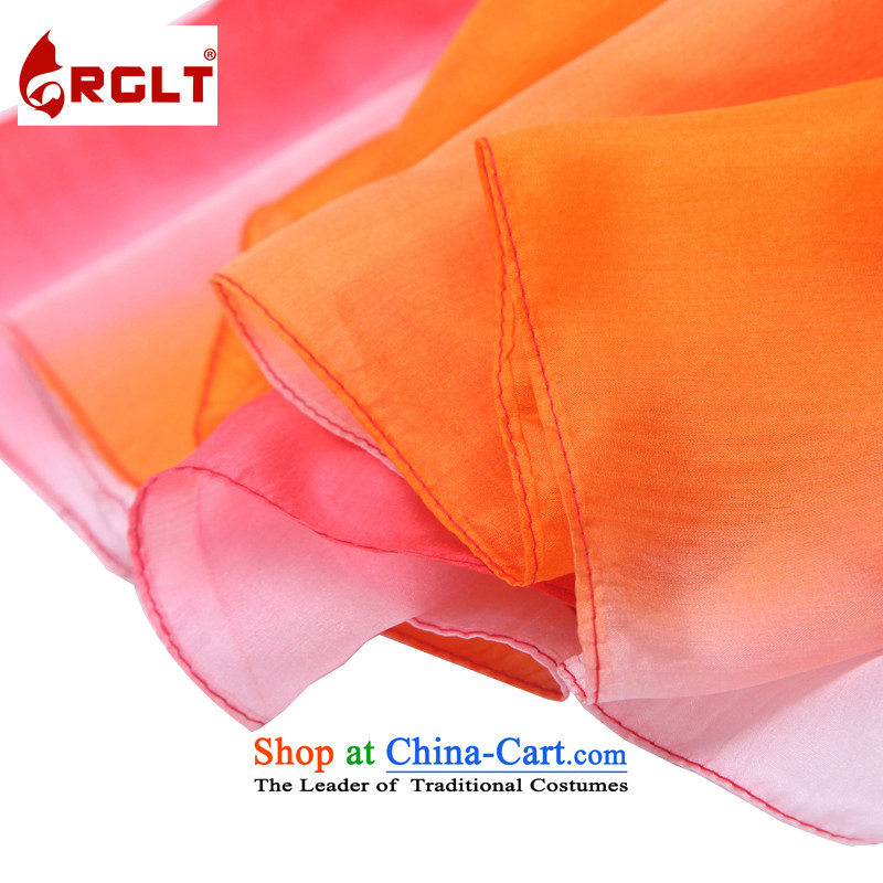 Rui, Gift Box 100 herbs extract Ms. hand-painted silk scarves long towel gradient duet songs string quartet shawl songs - yellow and green gradient LH, Rui, RGLT () , , , shopping on the Internet