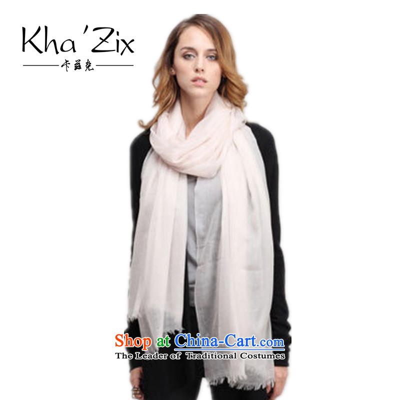 Ms. kha'zix scarf silk scarf autumn and winter new pashmina shawl girl, warmKZ8014313whitesmoke
