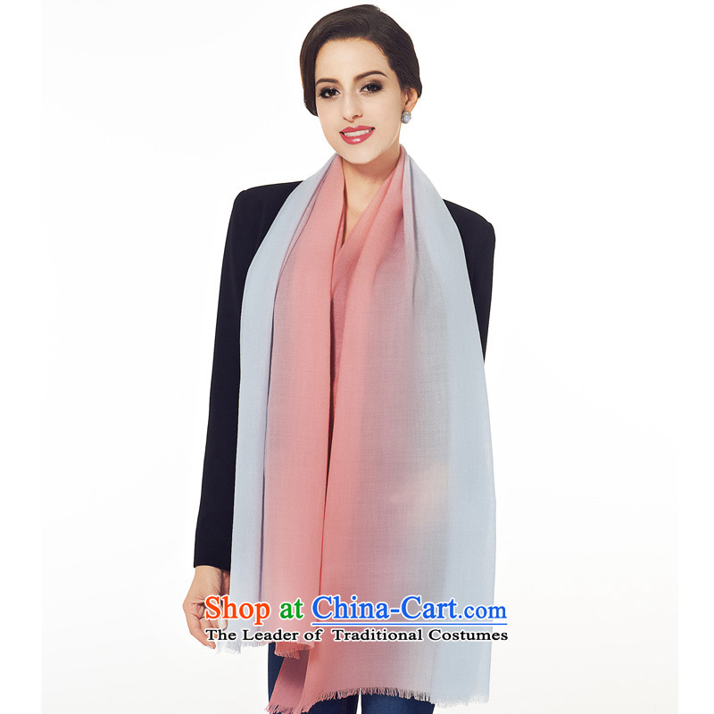 The population of 100_ Ms. wool long scarf shawl autumn air-conditioning warm winter gradient woolen scarves long scarves D Ho toner