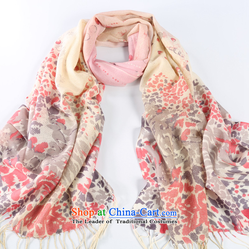Shanghai Story of gold and Pure Wool warm Ms. scarf wooler scarf autumn and winter, scarf of gold and leopard toner