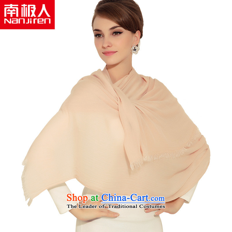 The Antarctic _nanjiren_ Ms. scarf of autumn and winter color lounge a shawl extended warm-nude