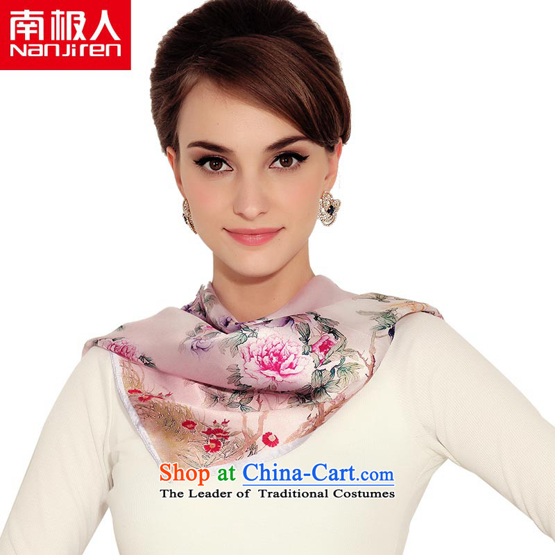 The Antarctic (nanjiren) Ms. silk small towel Electro Spray sauna silk scarves Vocational Business stylish scarves masks in 8#