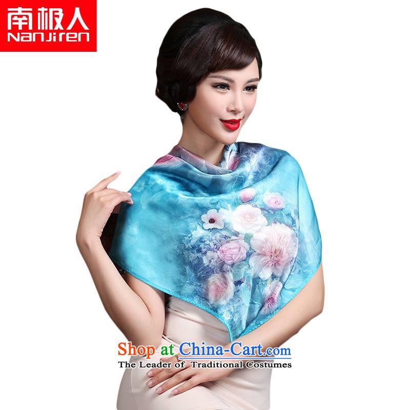 The Antarctic _nanjiren_ Ms. silk scarfs wild Korean shawl and classy聽13_ Towel
