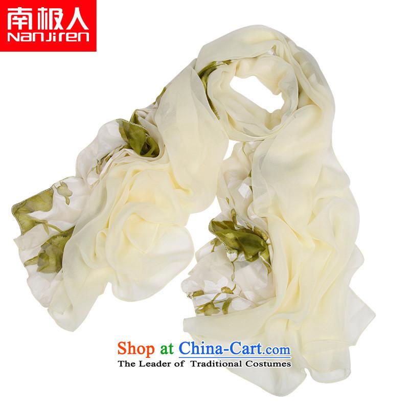 The Antarctic _nanjiren_ Emulation silk scarves Ms. Chiffon Fancy Scarf dual-use masks in聽5_