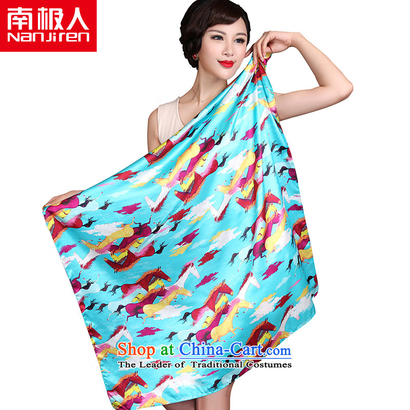 The Antarctic _nanjiren_ Ms. Santos silk scarves silk scarf and classy wild shawl Scarf聽2