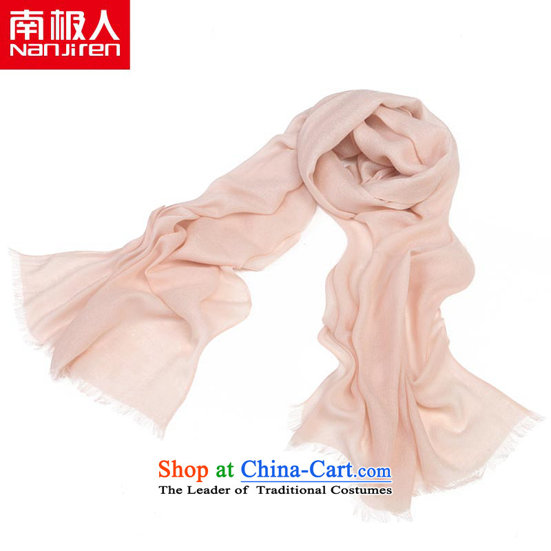 The Antarctic (nanjiren) Solid Korean president woolen scarves shawl autumn and winter female a nude