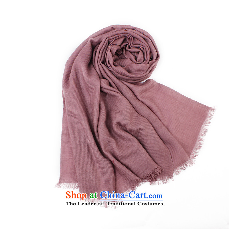 Shanghai Story Ms. wooler scarf autumn and winter pure color longer than the usual zongzi shawl color