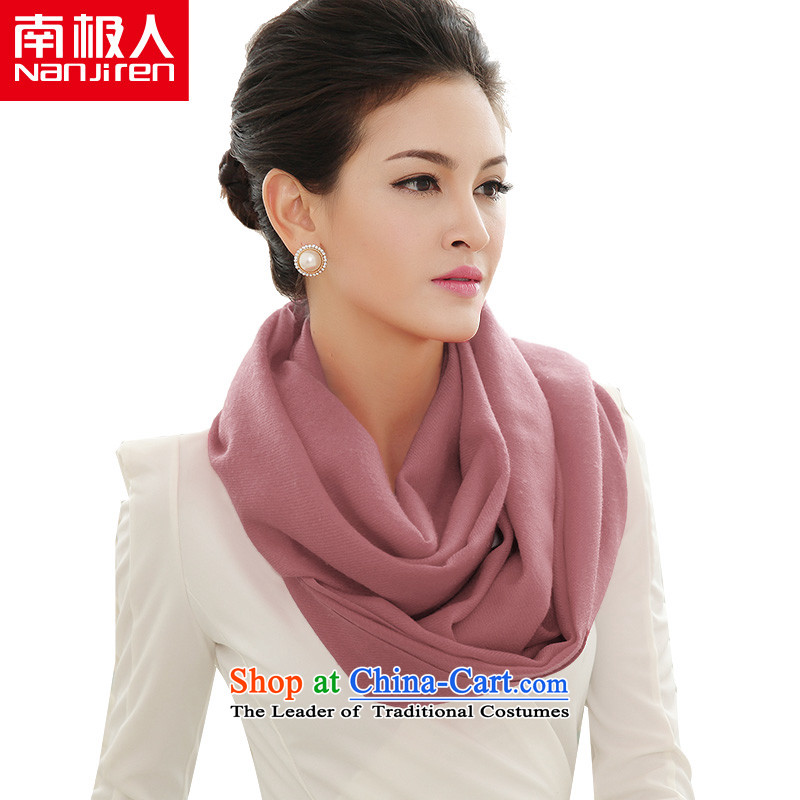 The Antarctic (nanjiren) Ms. wooler scarf autumn and winter solid wild shawl a usual zongzi