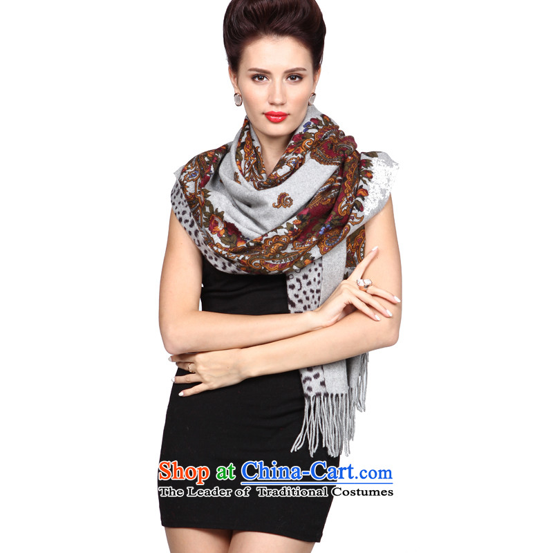 Shanghai Story's crowning glory thick pure cashmere shawls scarves luxury cashmere pashmina4313ice or jade