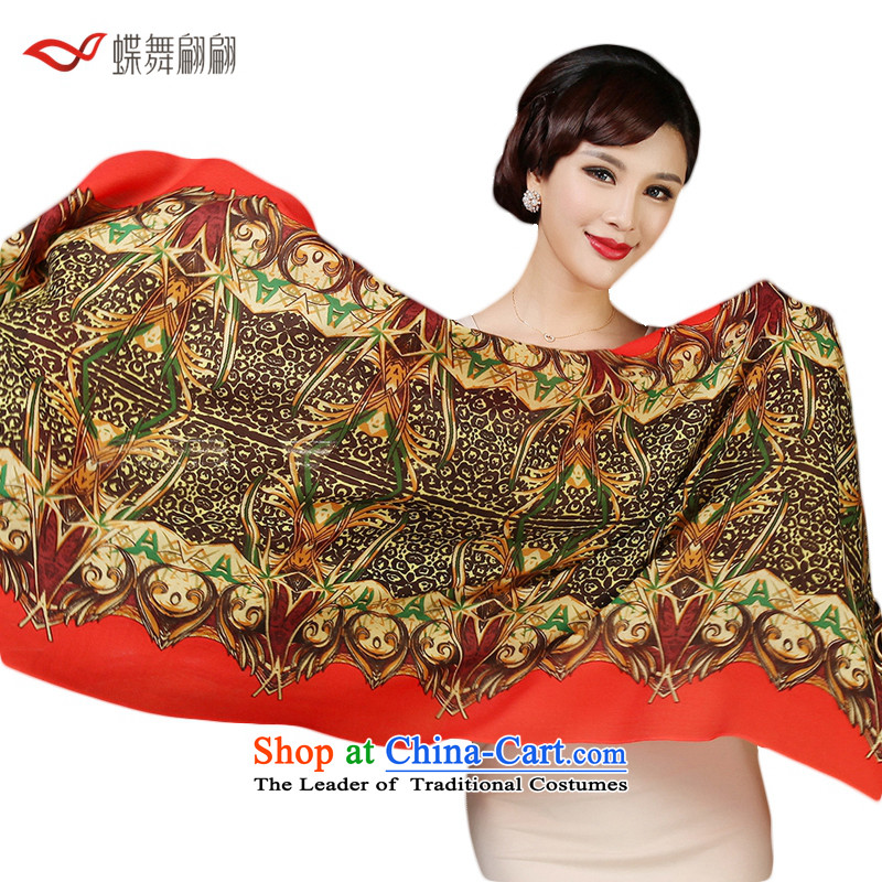 The Butterfly Dance Medley 72 support stamp wooler scarf female warm winter shawl聽8_