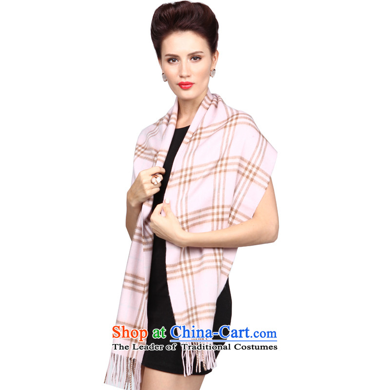 Shanghai Story Classic Grid lamb wool woolen cravat shawl autumn and winter warm small segments of the scarf small toner.