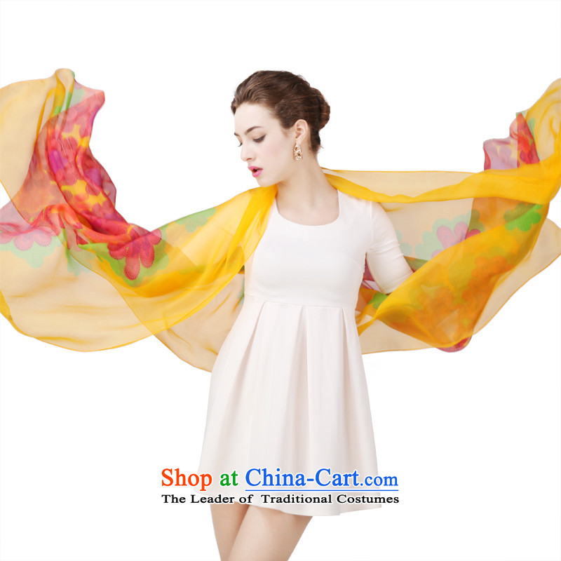 Shanghai Story silk herbs extract silk scarf Fancy Scarf silk scarves4313Glorying Caixia Wong