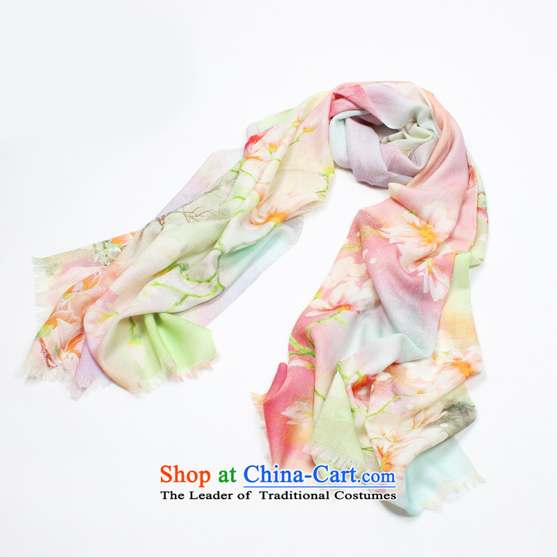Shanghai Story scarf autumn and winter new poster Ms. wooler scarf warm shawl 100% Pure Wool gift scarf watermark Gangnam