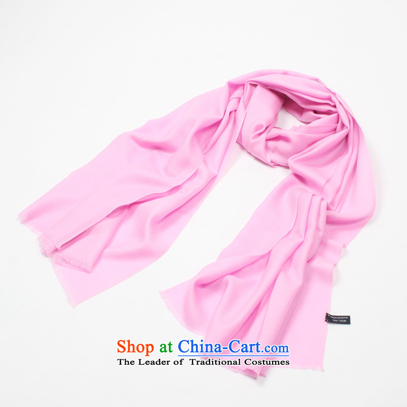 Shanghai Story counters genuine2014 autumn and winter new pure color woolen scarves encryption Ms. light pink Warm Big shawl holiday gifts scarf light pink