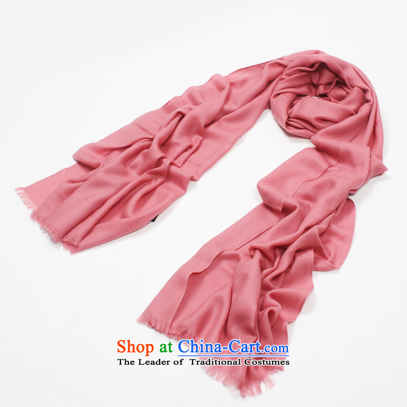 Shanghai Story counters genuine 2014 autumn and winter new pure color wooler scarf rubber, Ms. warm wool large shawl holiday gifts scarf procurement rubber red