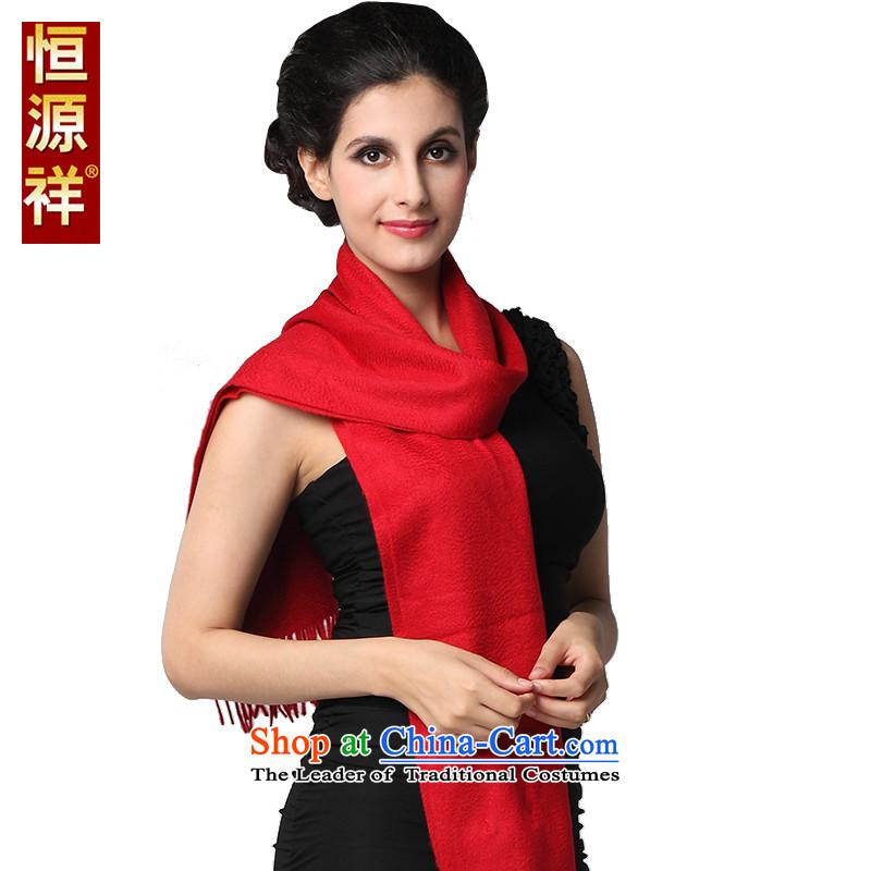 Hang Cheung scarves Scottish tartan source pashmina edging Ms. female warm long thick couples large Red Shawl聽180_30 cm