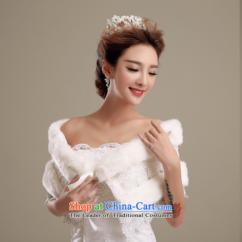 Embroidered is by no means a bride wedding dresses shawl qipao control lace white marriage shawl shawls gross m White