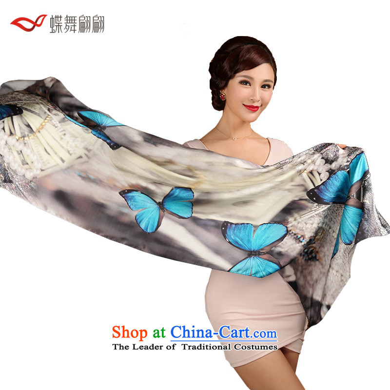 The Butterfly Dance performers in the Mood for Love of silk scarves female autumn herbs extract scarf warm shawl3-11A, ASIA