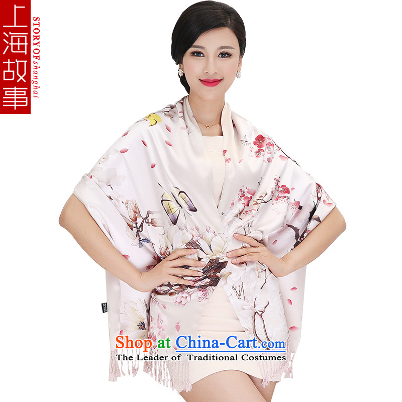 Shanghai Story silk scarves silk scarf Ms. Santos also double standard gift shawl 9