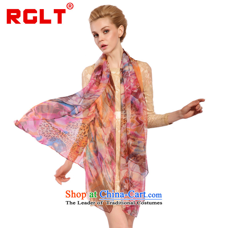 Rglt Rui,2015 Ms. new silk scarves gittoes stamp scarf two increases silk scarf shawlsj532 dazzling shadow - To Love