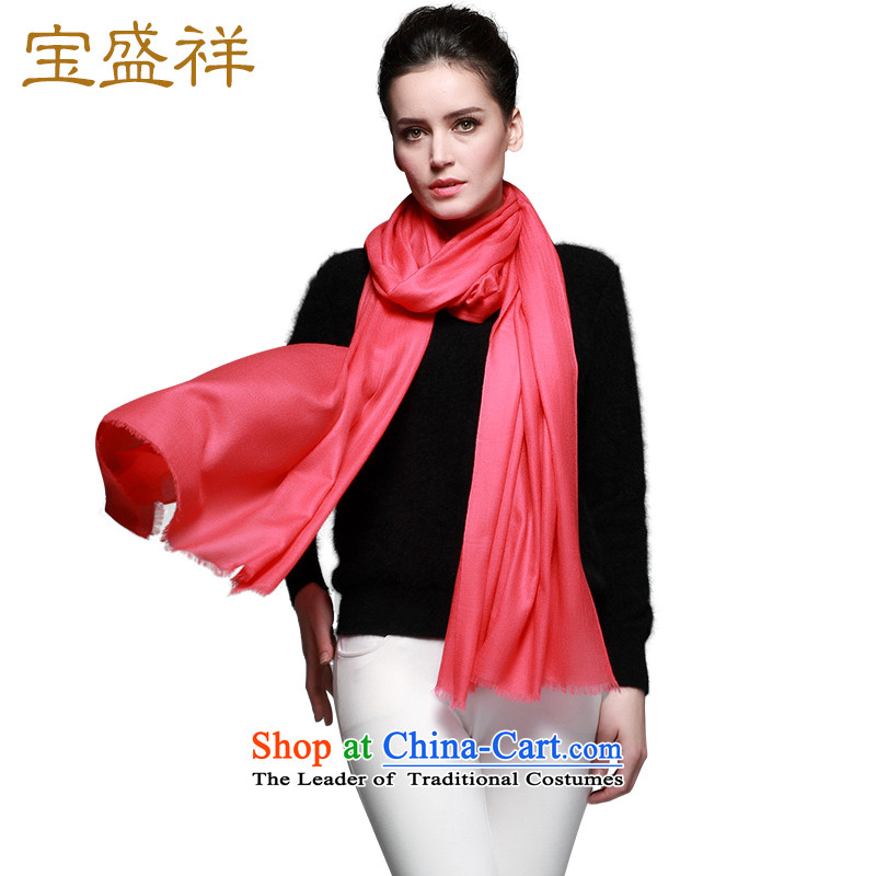 Eric blossom autumn and winter new 200 wool woolen ring-water-soluble Fancy Scarf diamond pattern Ms. Plain Solid a female rubber red scarves wool