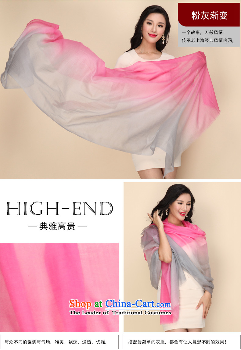 Shanghai Story gradient Cashmere scarf, autumn and winter shawl a Blue orange gradient picture, prices, brand platters! The elections are supplied in the national character of distribution, so action, buy now enjoy more preferential! As soon as possible.