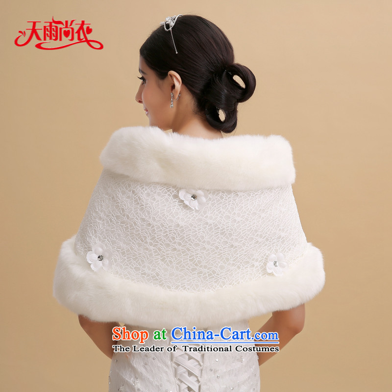 Rain-sang Yi marriages 2015 new wedding fur Silk flower buds dinner will be served a drink warm winter shawl PJ089 gross