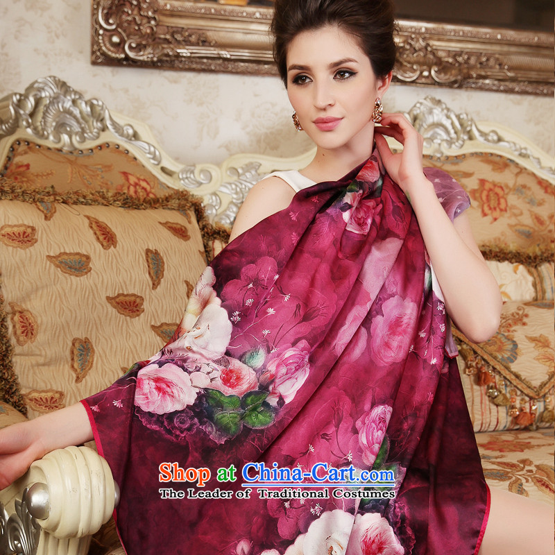 One meter animation yarn silk scarves 2014 new spring herbs extract scarf15# Ms.