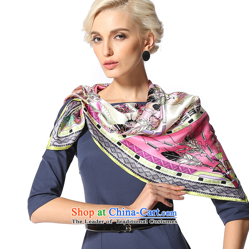 Gems butterfly silk scarf and classy2014 autumn and winter New President Dos Santos Fancy Scarf silk scarves/Tribal rave3 color