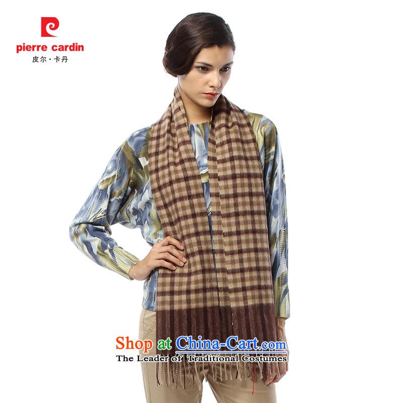 Pilka dan 2014 autumn and winter new stylish Wild won 100_ wool scarf shawl version warm