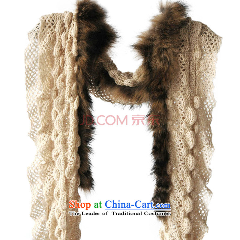 Nuclear Sub gross CHEGEE anthology, scarves knitted warm fur female Yuan Magazine)