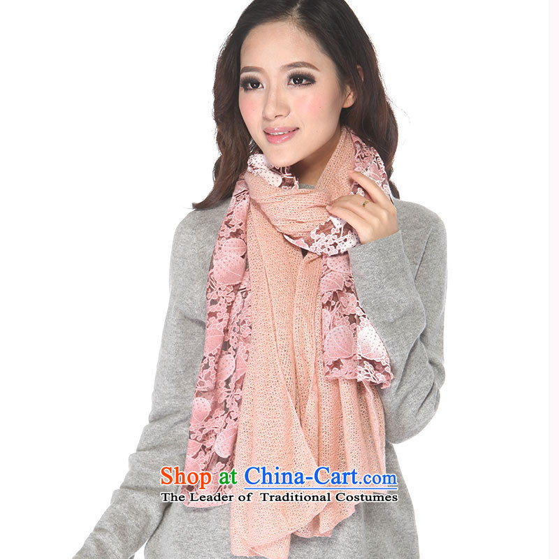 Micro-el-Impression 2015 new autumn and winter, widen the extension of Ms. Fancy Scarf through multiple-use warm winter female scarves42 PINK
