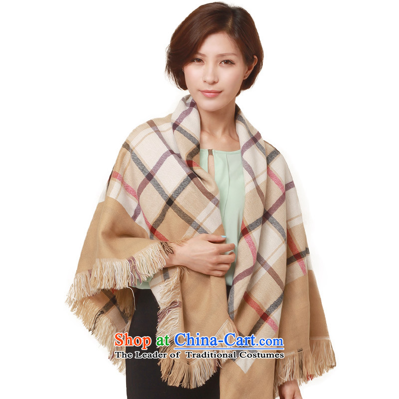 No. (glovin) style genuine spring and summer Retro classic english style sub-su duplex warm towel and classy color and female shawls air-conditioning.