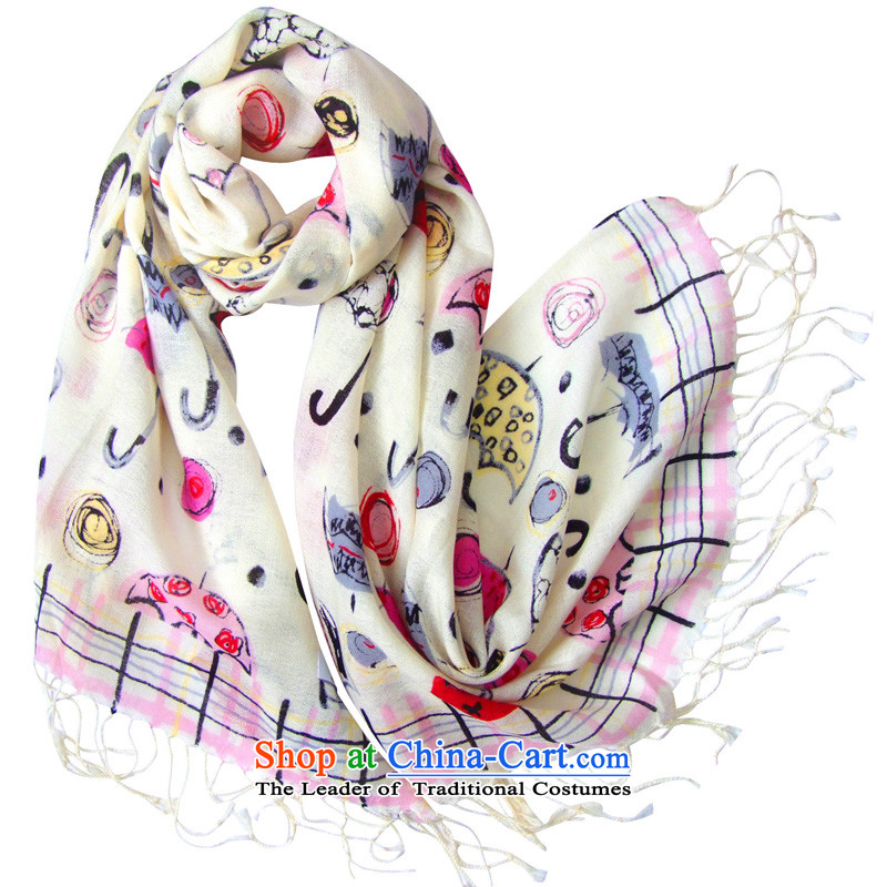 Hengyuan Cheung great woolen scarves stamp long flower umbrella Dz-wp319 childhood in Red Pink exquisite gift box red toner.