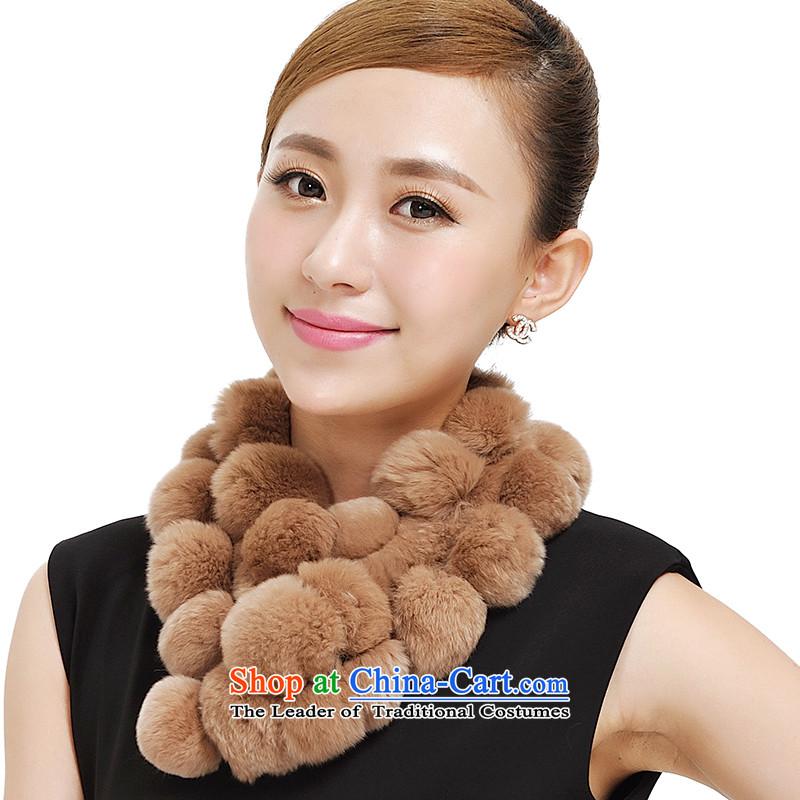 Shanghai Story 2014 new rabbit hair Ms. a warm, rabbit hair a scarf Korean 28 rabbit hair ball fur muffler female 177033 and color