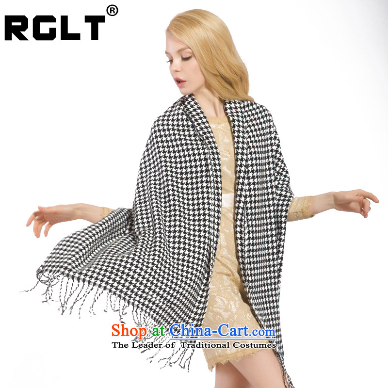 Rglt Rui,2015 Autumn and Winter Sweater Knit thick new chidori grid unisex Scarf2 m maximum shawlwh354 Moore Town - Plaid