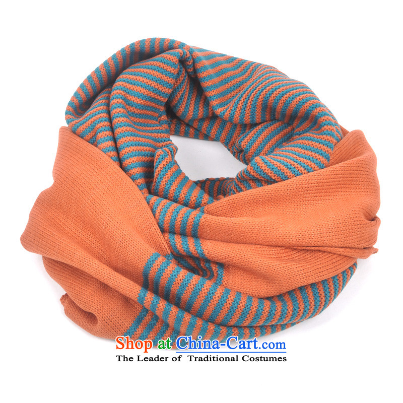 Song Shinille scarf female autumn and winter Korean male and Knitting scarves winter Korea should a long thick, Indian shawls couples red-orange scarf