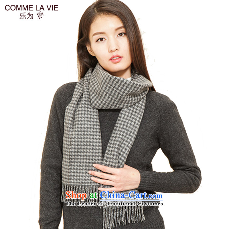 As the end of the scarf throughout the wool men, warm winter couples) 14FC255 Gray